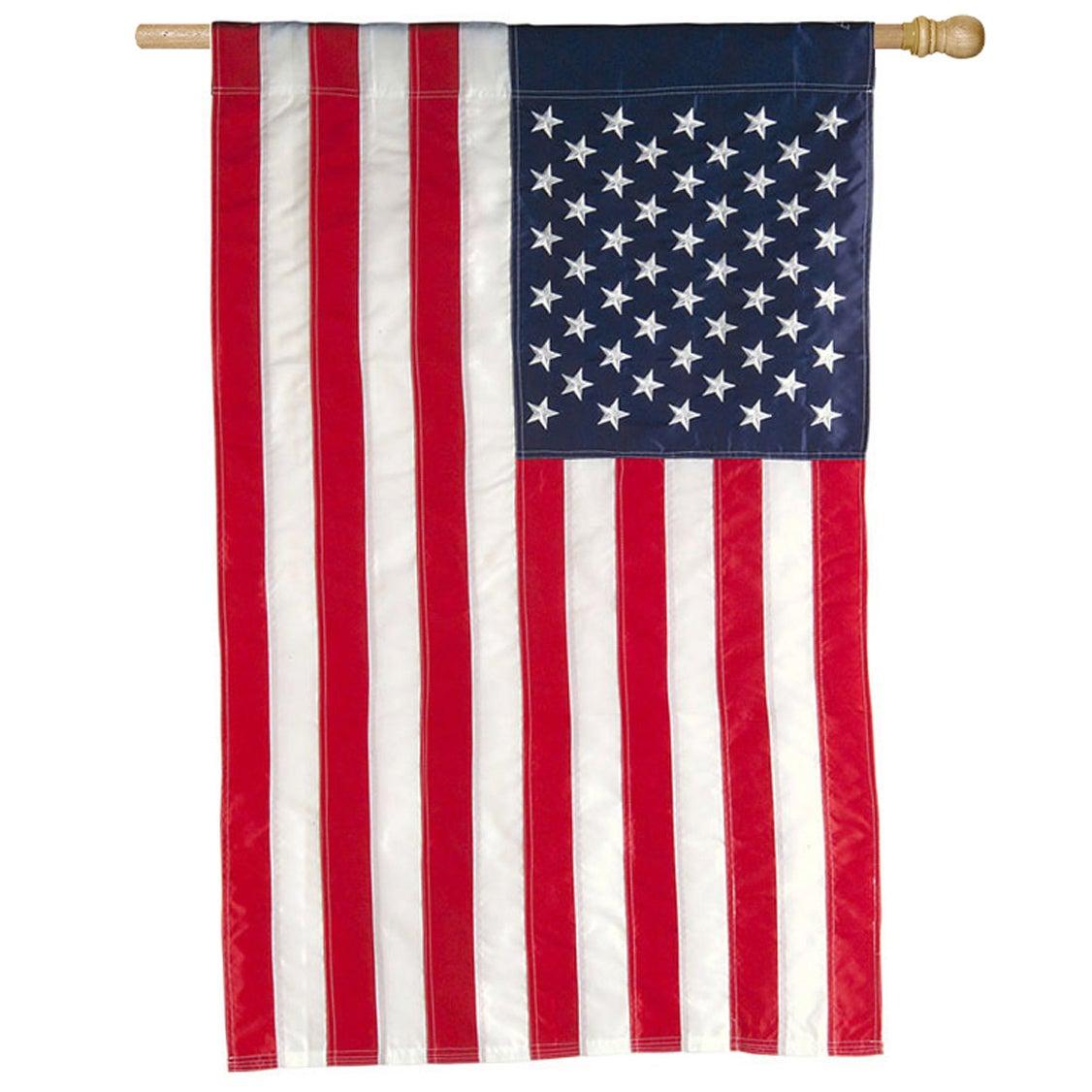 American Applique House Flag