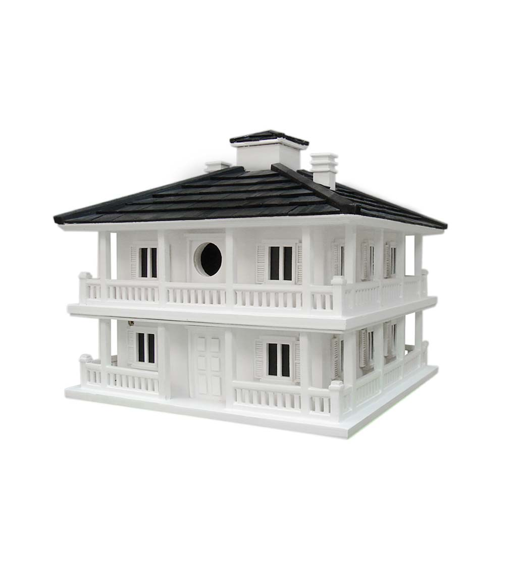 Grand Clubhouse Birdhouse with Two Nesting Boxes