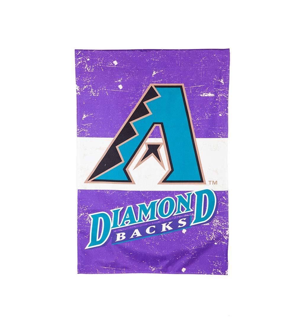 Arizona Diamondbacks Vintage Linen House Flag