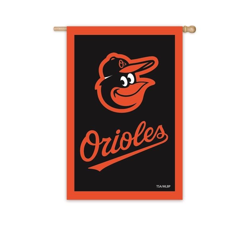 Baltimore Orioles Appliqué House Flag