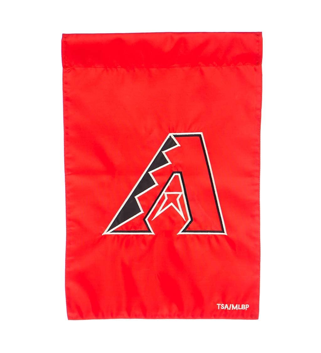 Arizona Diamondbacks Appliqué Garden Flag