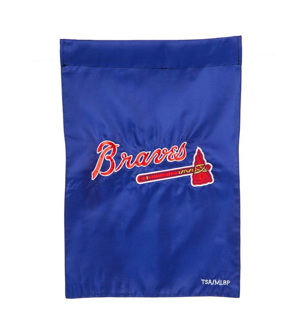 Atlanta Braves Appliqué Garden Flag