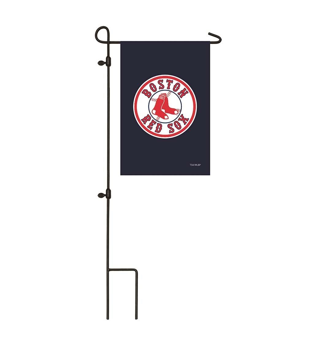Boston Red Sox Appliqué Garden Flag