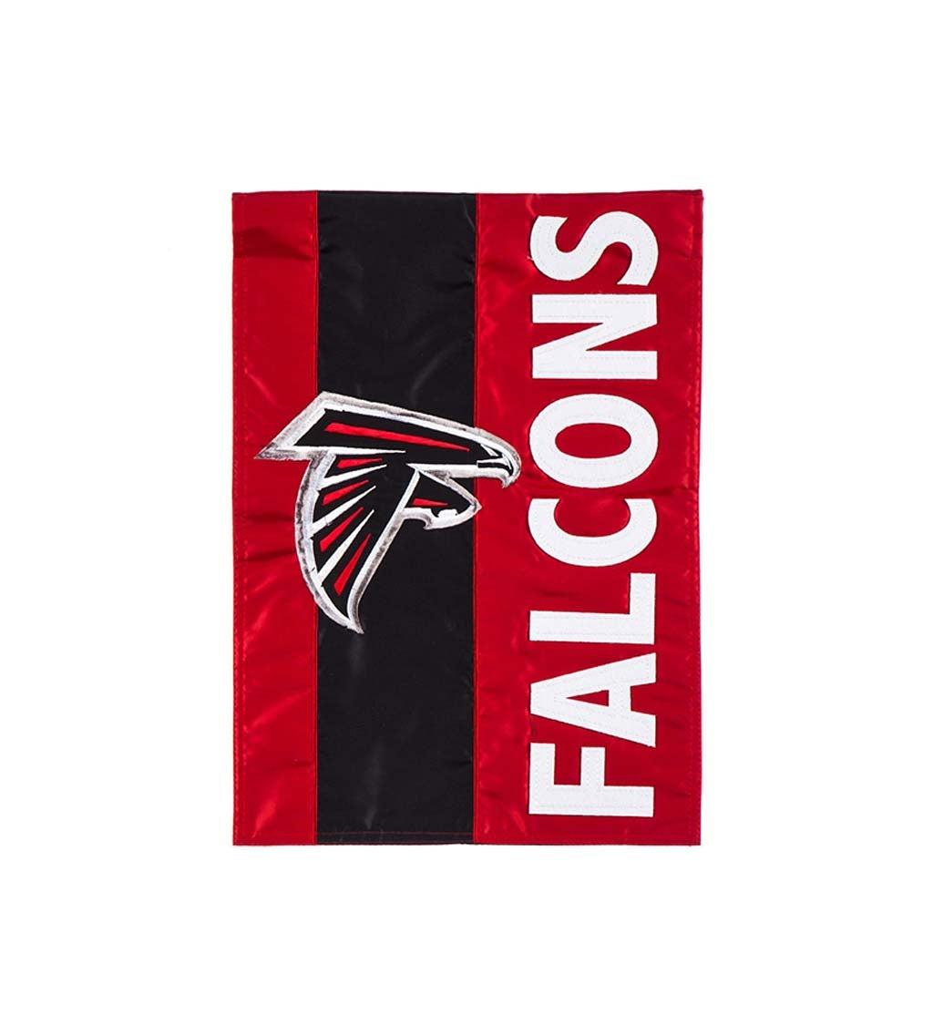 Atlanta Falcons Embellished Garden Flag