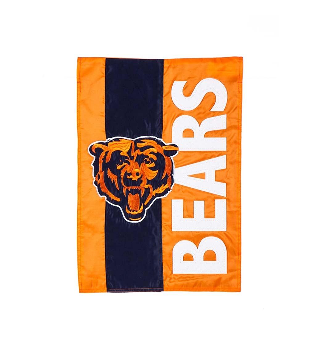 Chicago Bears Embellished Garden Flag