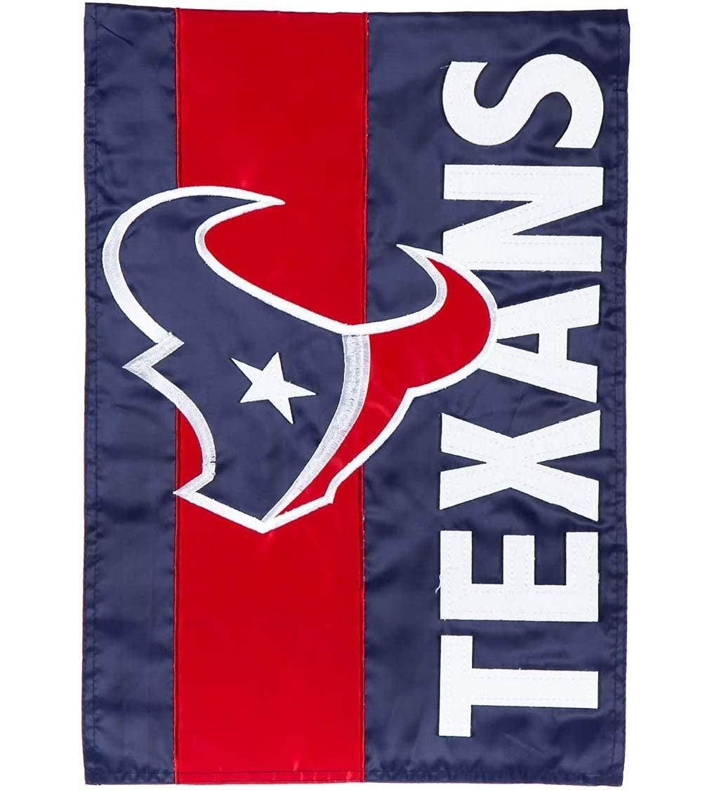 Houston Texans Embellished Garden Flag