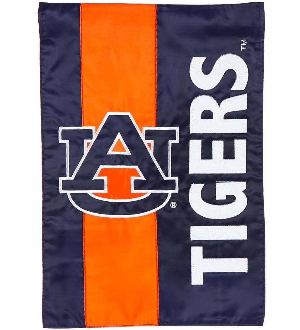 Auburn University Mixed-Material Embellished Appliqué Garden Flag