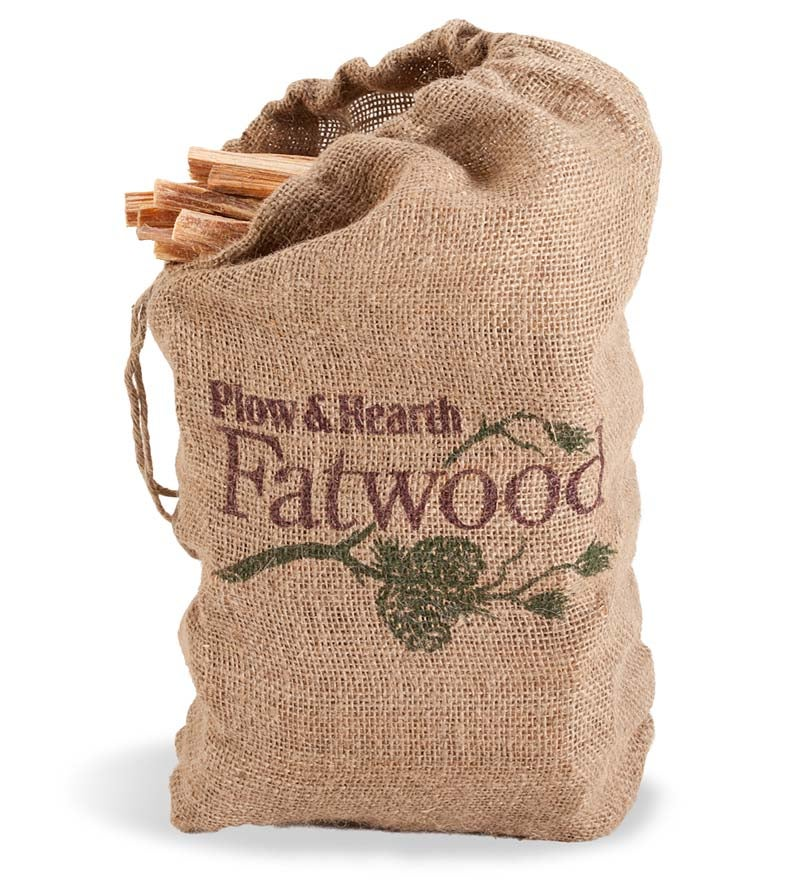 12 lb. Bag of Fatwood Fire Starter - Resin Rich Easy Start Kindling