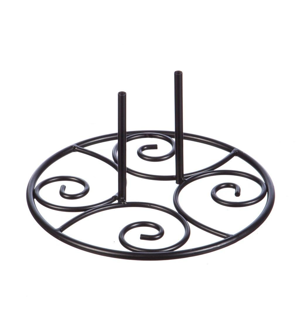 Elegant Swirl Stand Base
