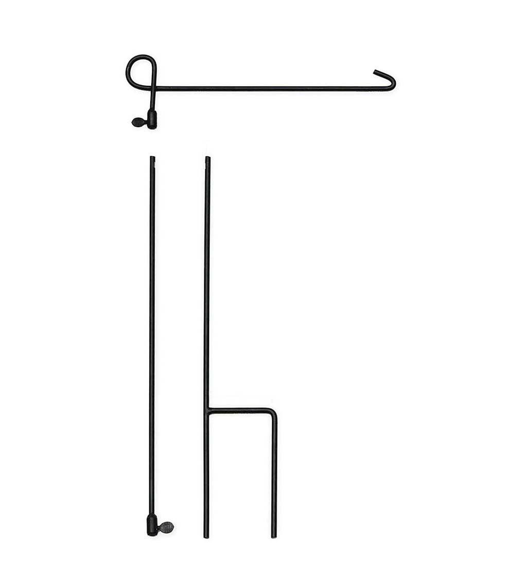 Garden Flag Stand, 3 piece