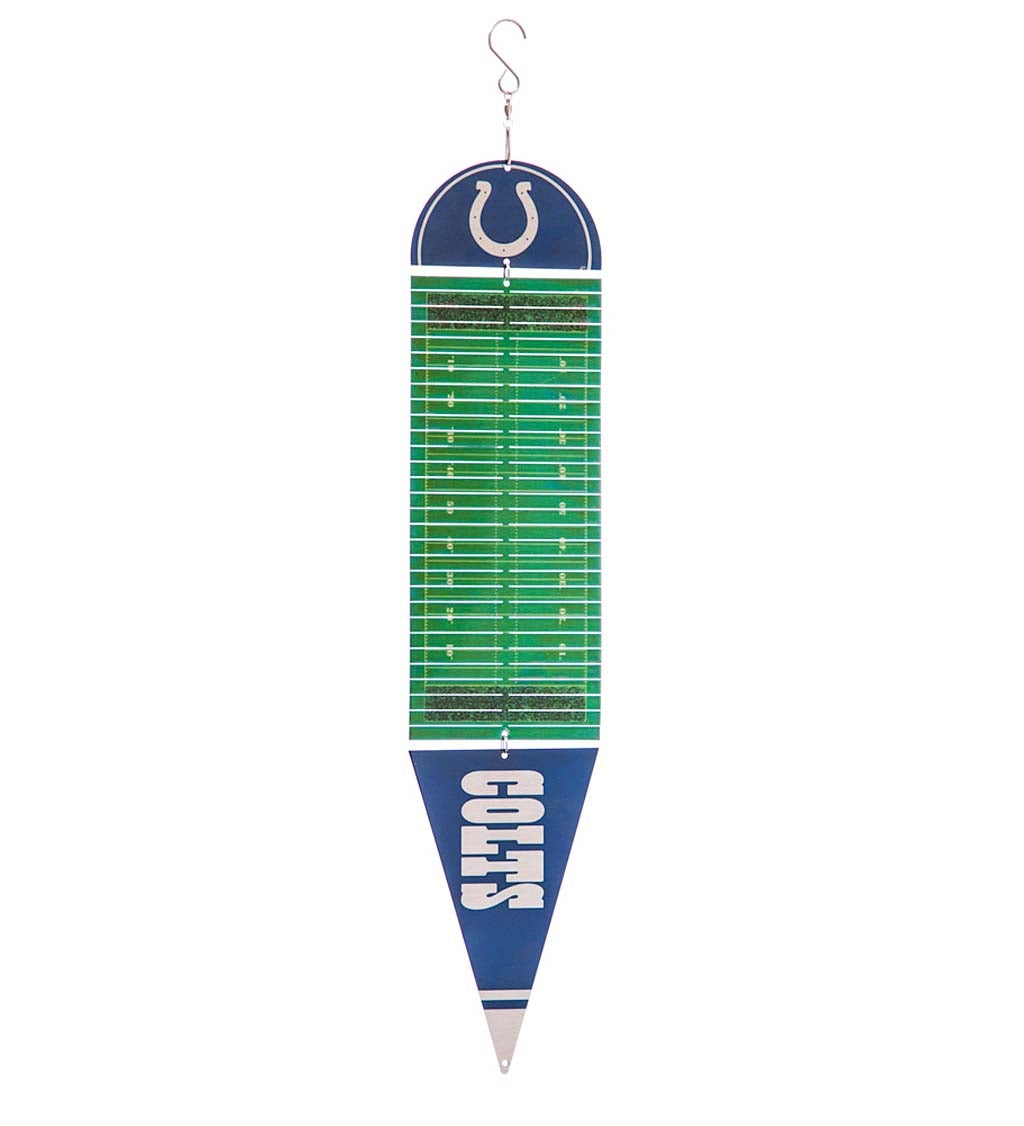 Indianapolis Colts Football Field Spectrum Twirler Wind Spinner