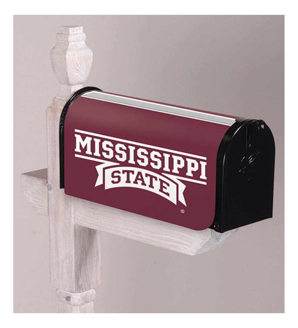 Mississippi State University Appliqué Mailbox Cover