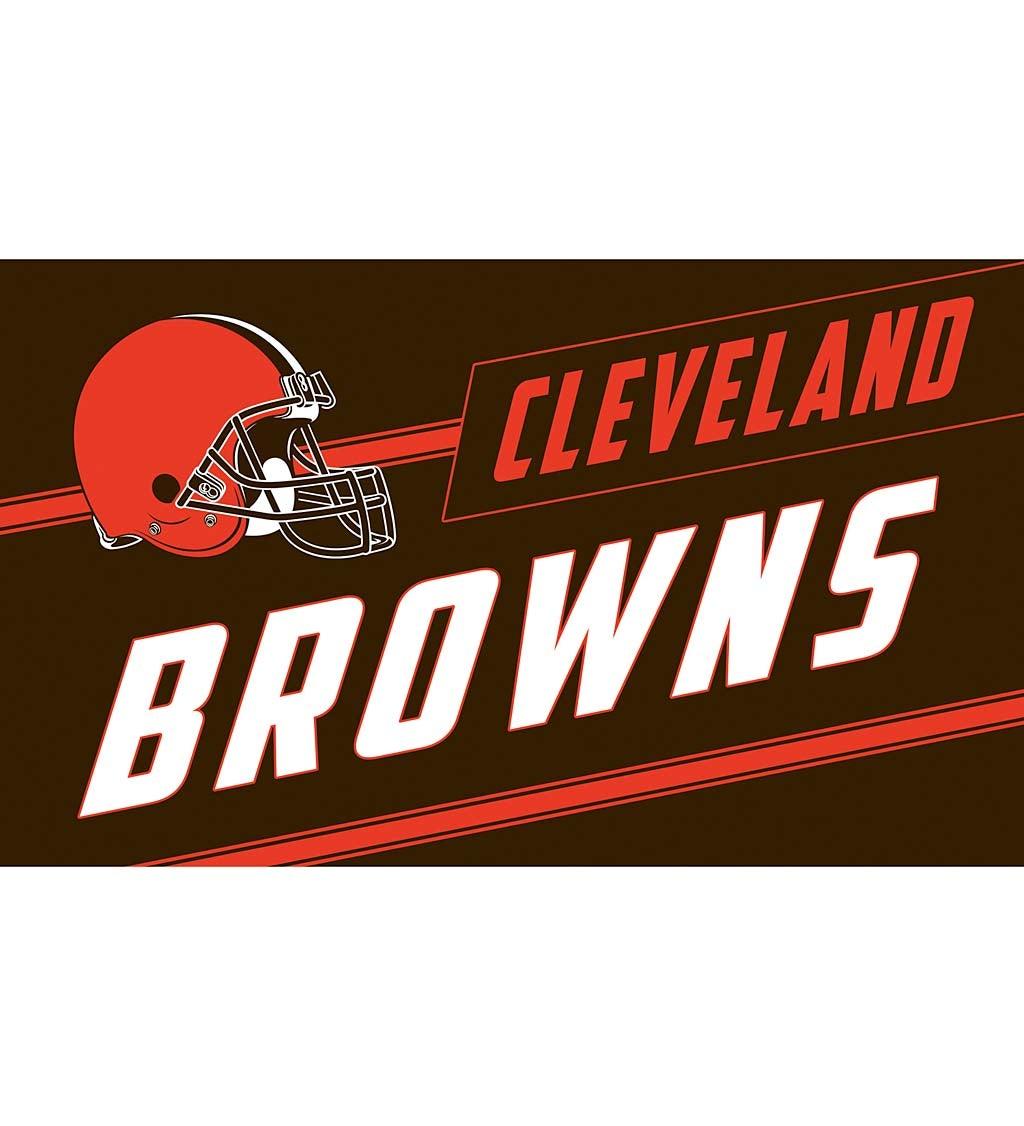 Cleveland Browns Coir Punch Mat