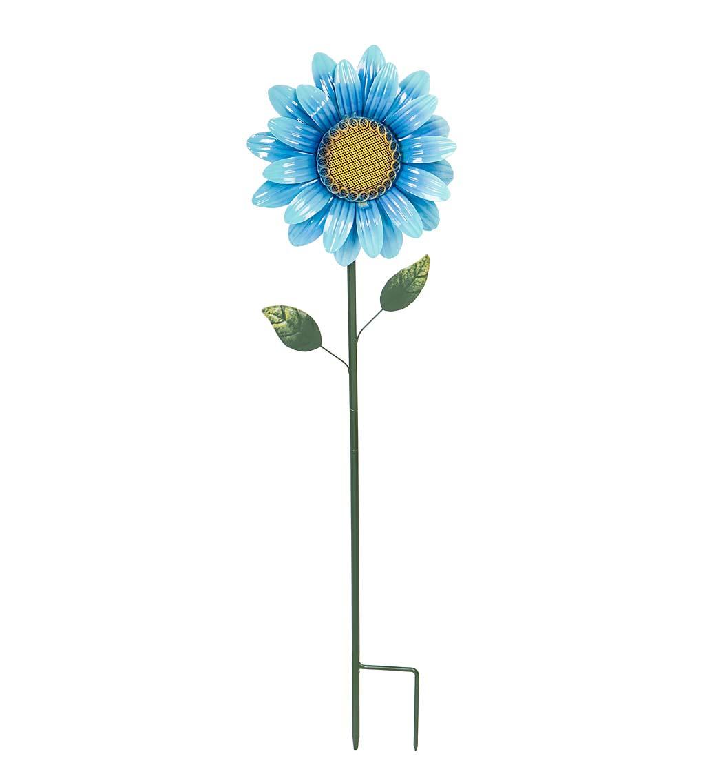 Solar Flower Metal Garden Stake