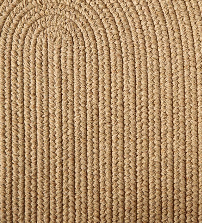 "Blue Ridge Wool Braided Stair Tread, 8"" x 28"""