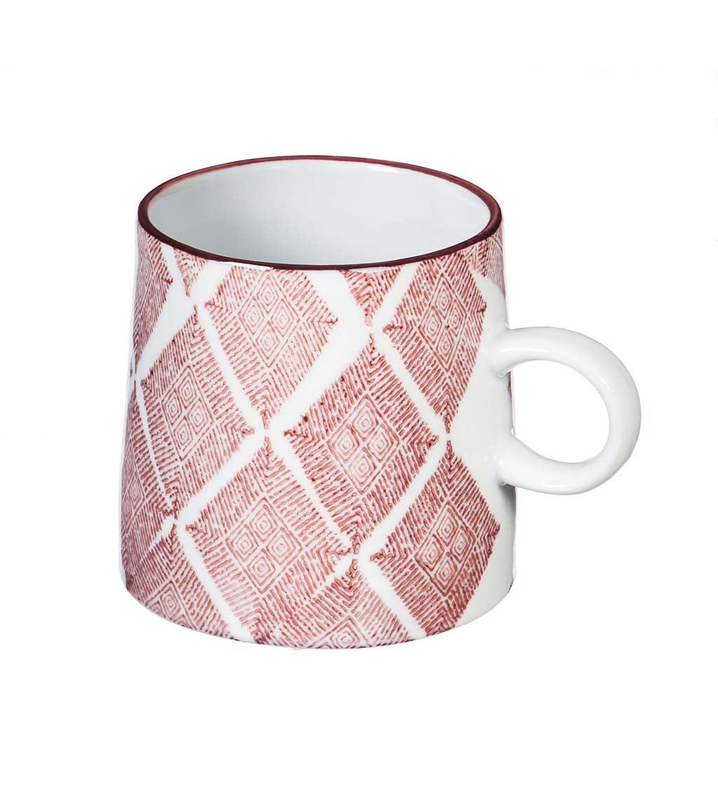 Red Capri 10-oz Ceramic Coffee Cup