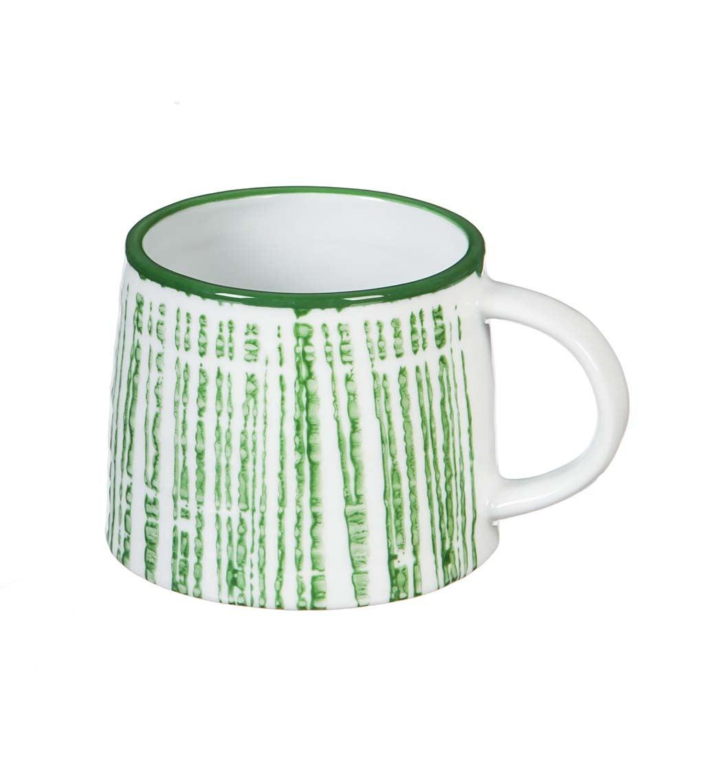 Green Hayden 8-oz Ceramic Coffee Cup