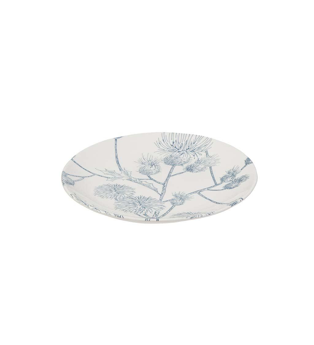 Botanical Brunch Ceramic Salad Plate