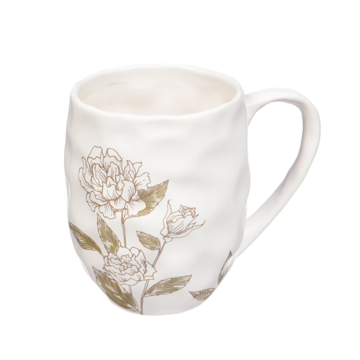 At Ease Traditional Ceramic Coffee Cup