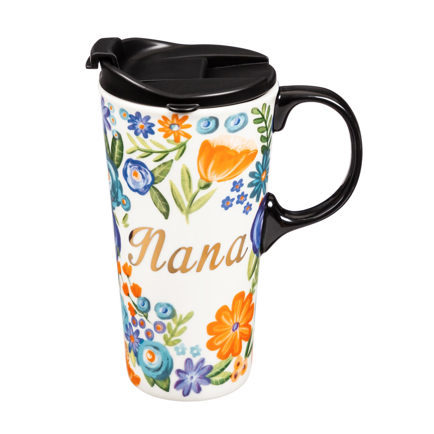 Nana Ceramic Travel Coffee Mug