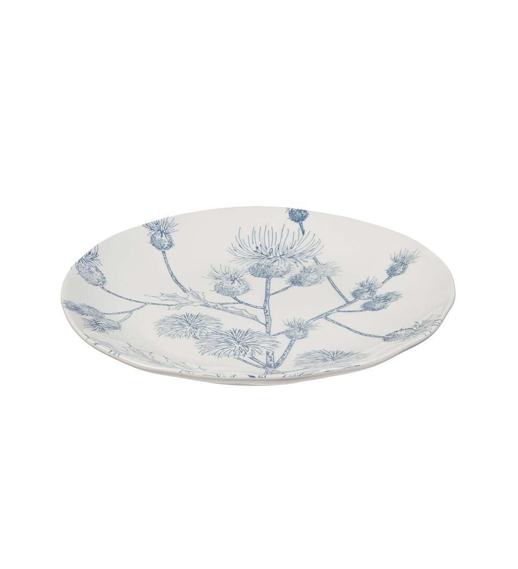 Botanical Brunch Ceramic Lunch Plate