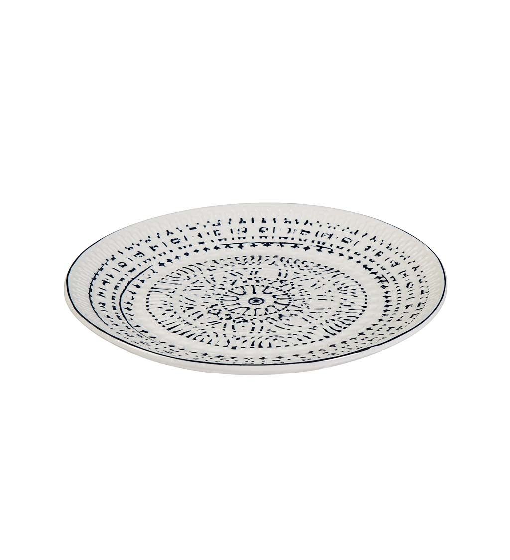 Inkwell Ceramic Plate