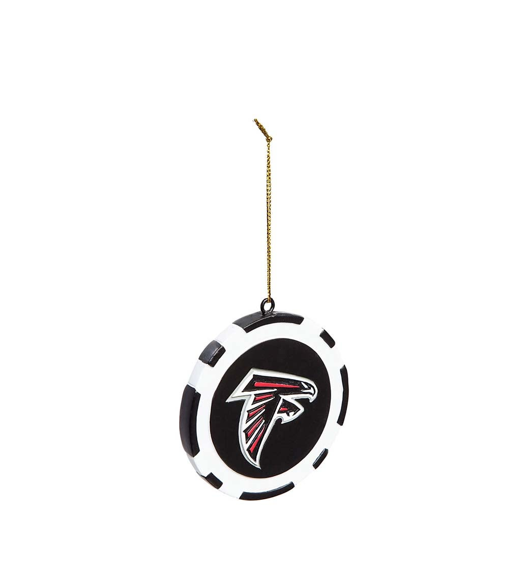Atlanta Falcons Game Chip Ornament