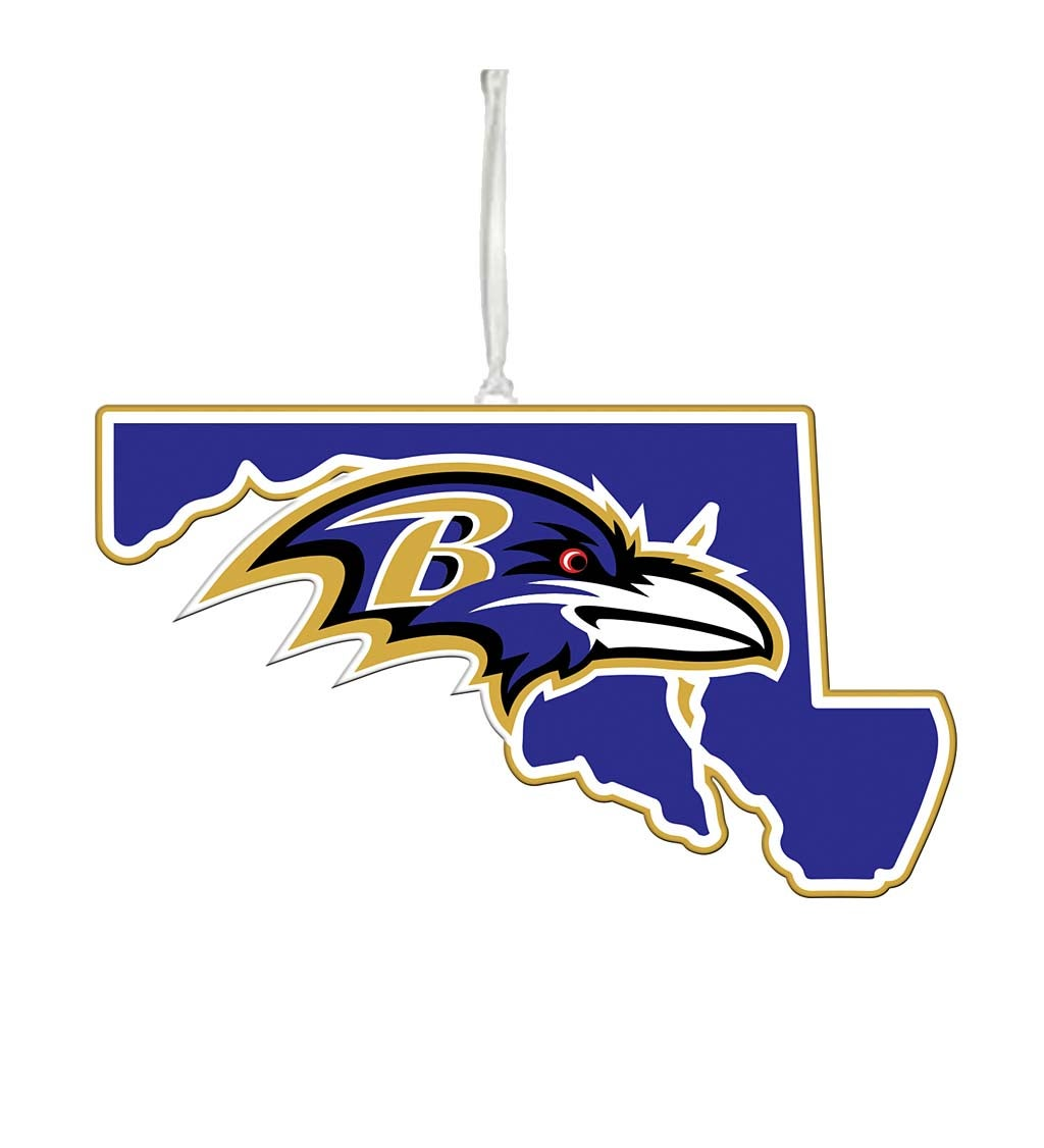Baltimore Ravens State Ornament