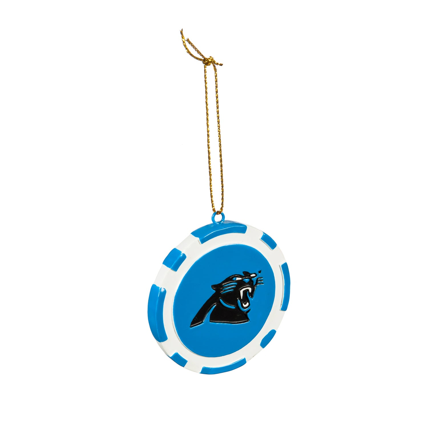 Carolina Panthers Game Chip Ornament