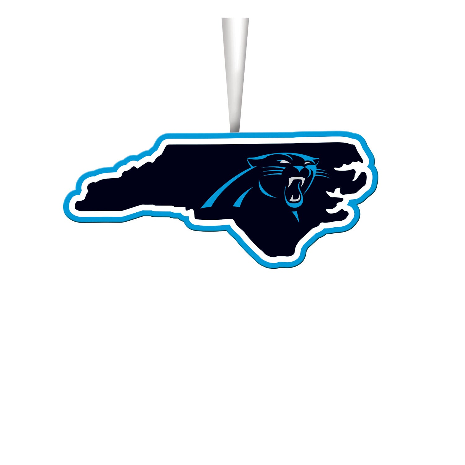 Carolina Panthers State Ornament