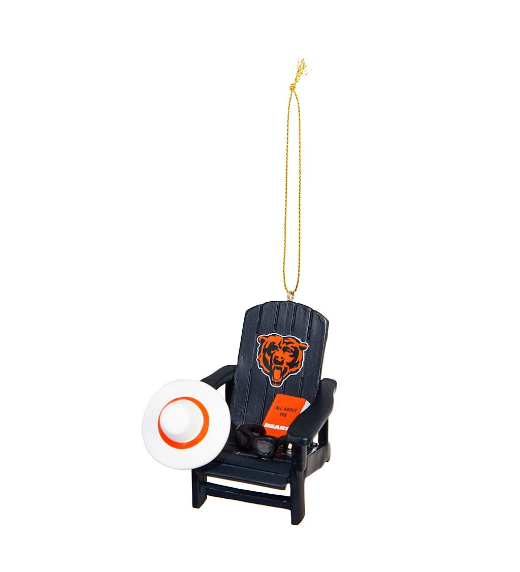 Chicago Bears Adirondack Chair Ornament