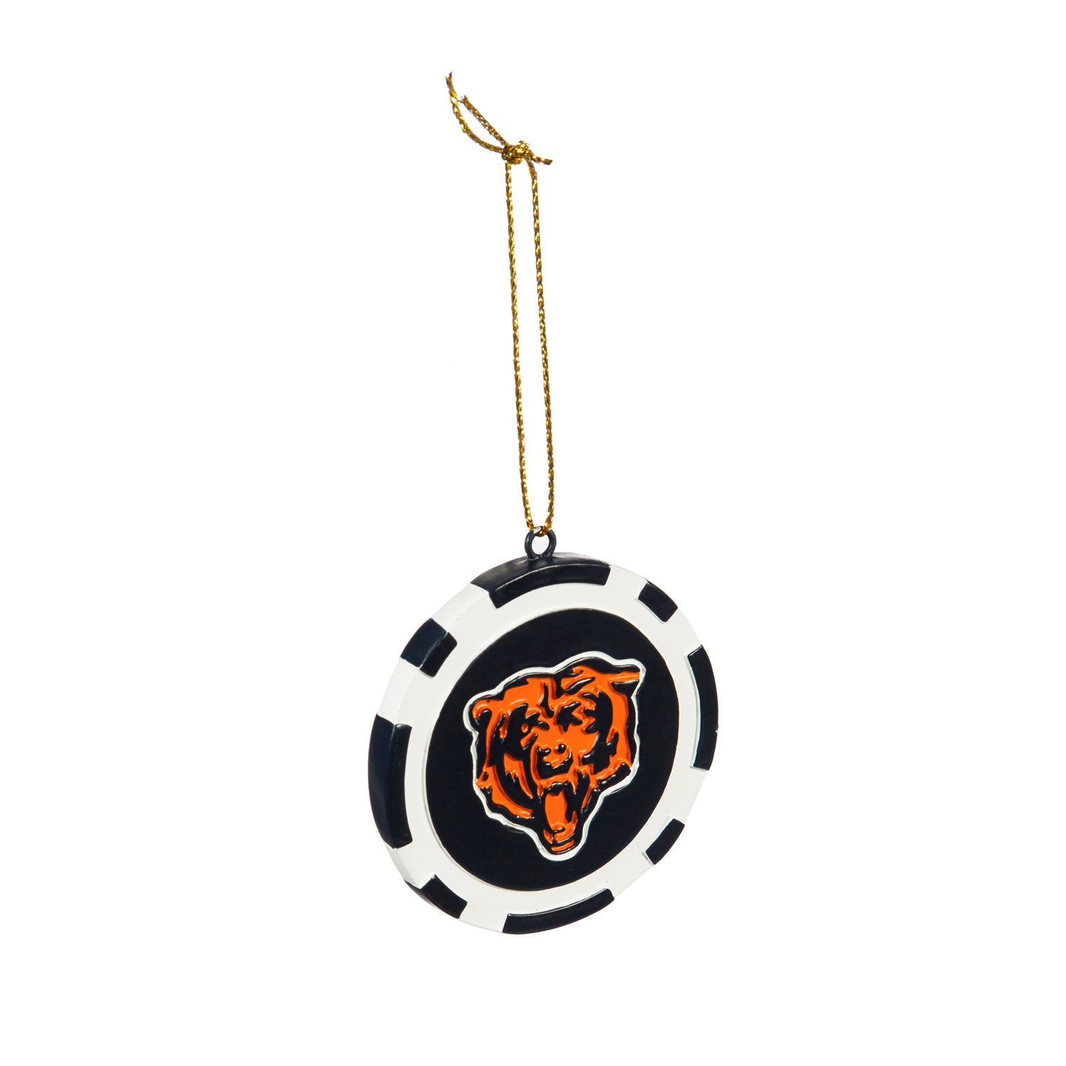 Chicago Bears Game Chip Ornament