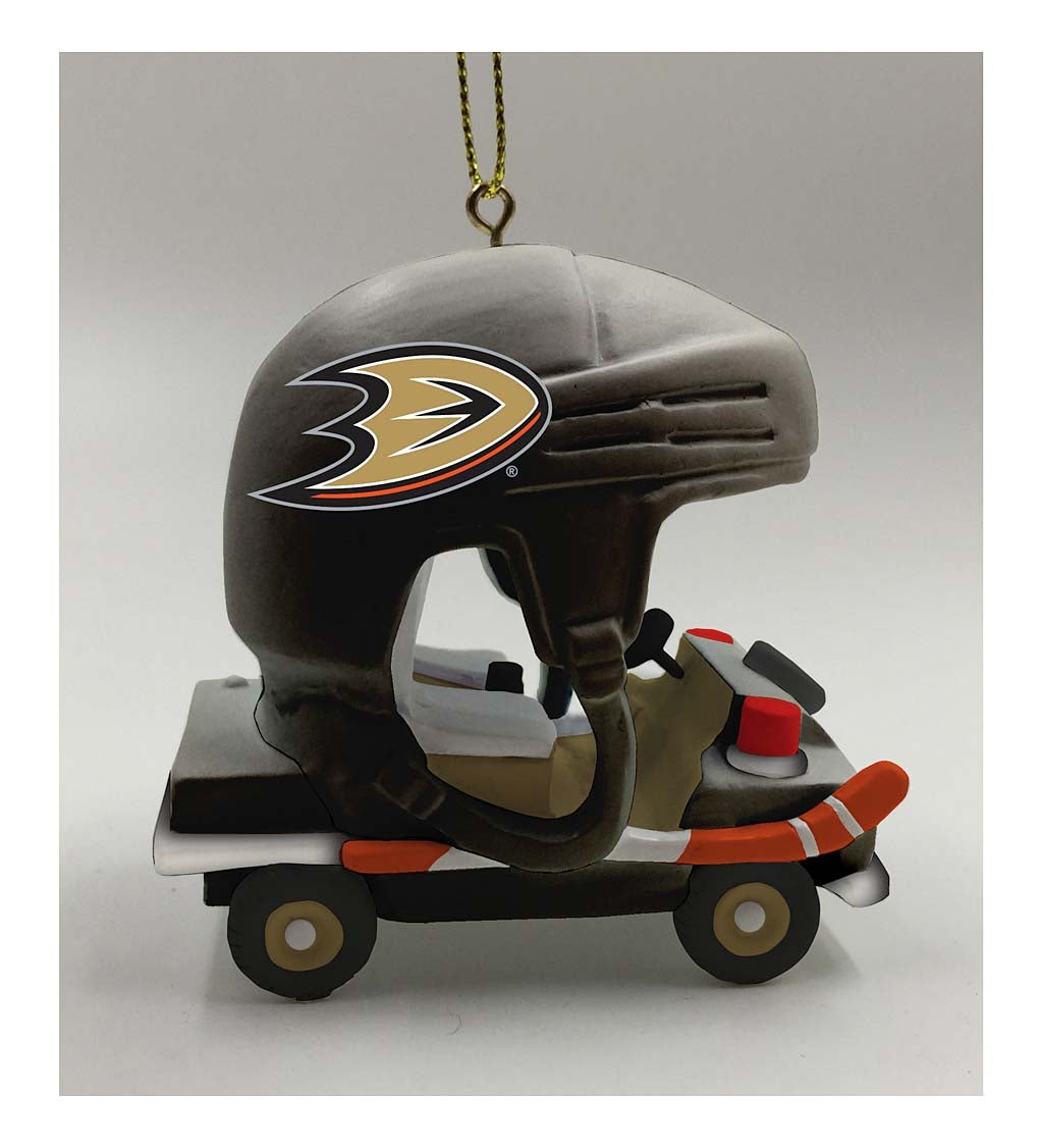 Anaheim Ducks Field Car Ornament