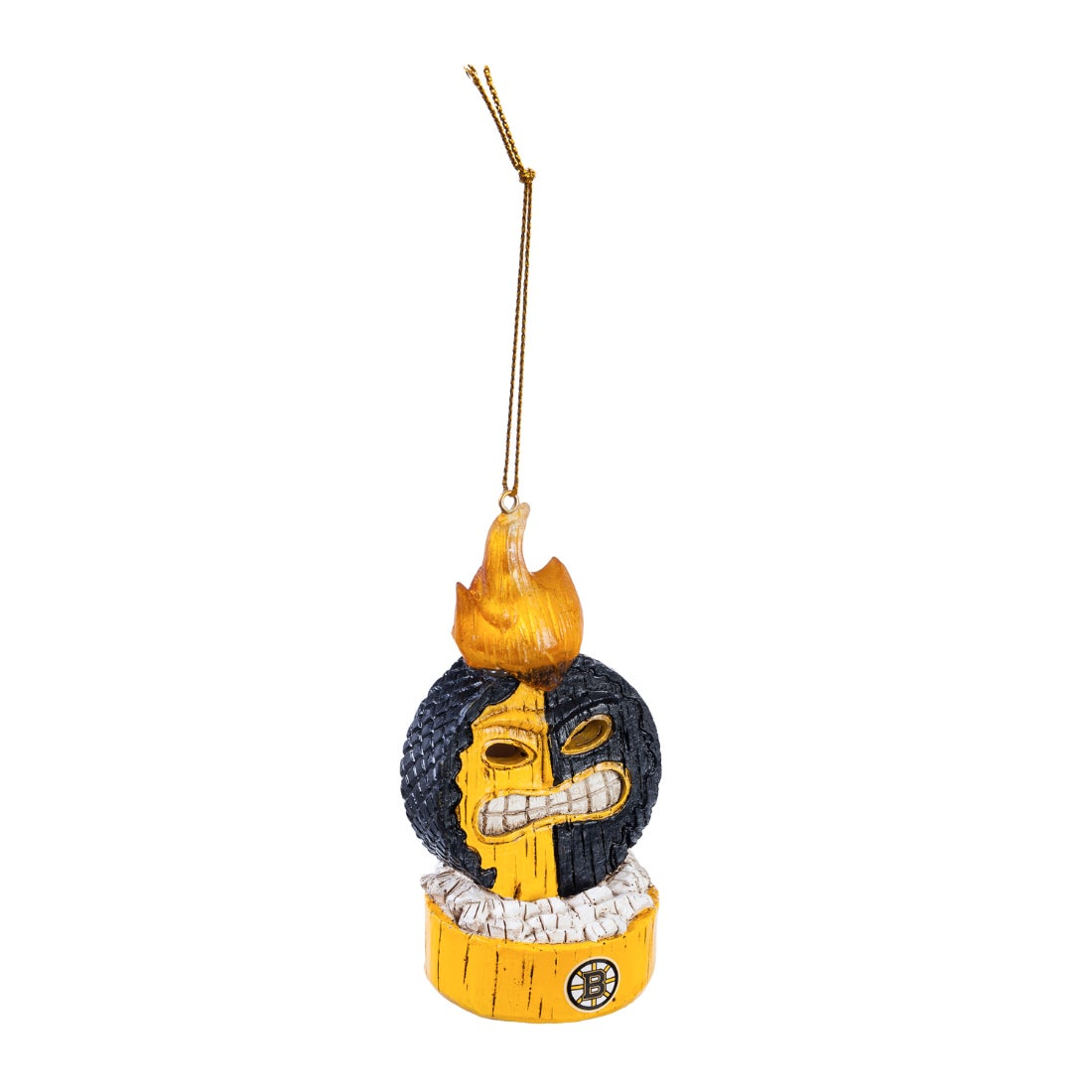 Boston Bruins Lit Team Ball Ornament