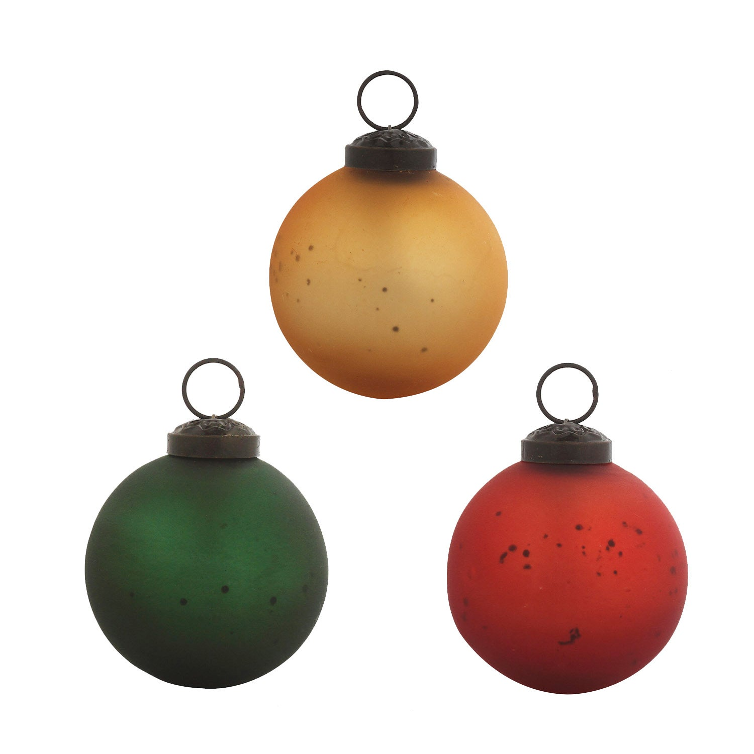 "2.5"" Holiday Classic Round Ornaments, Set of 12"
