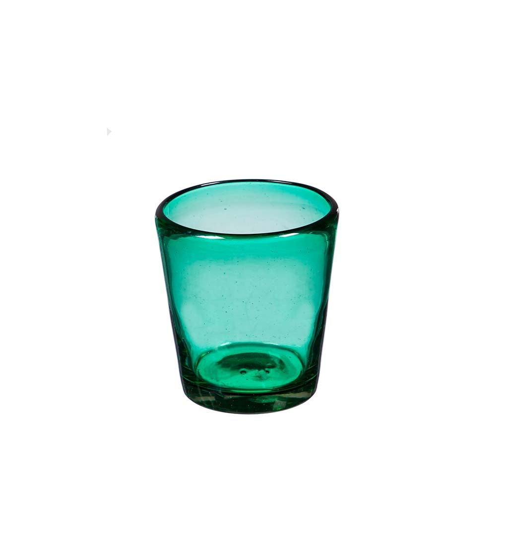 Marcel Emerald 10 OZ Recycled Glass Tumbler