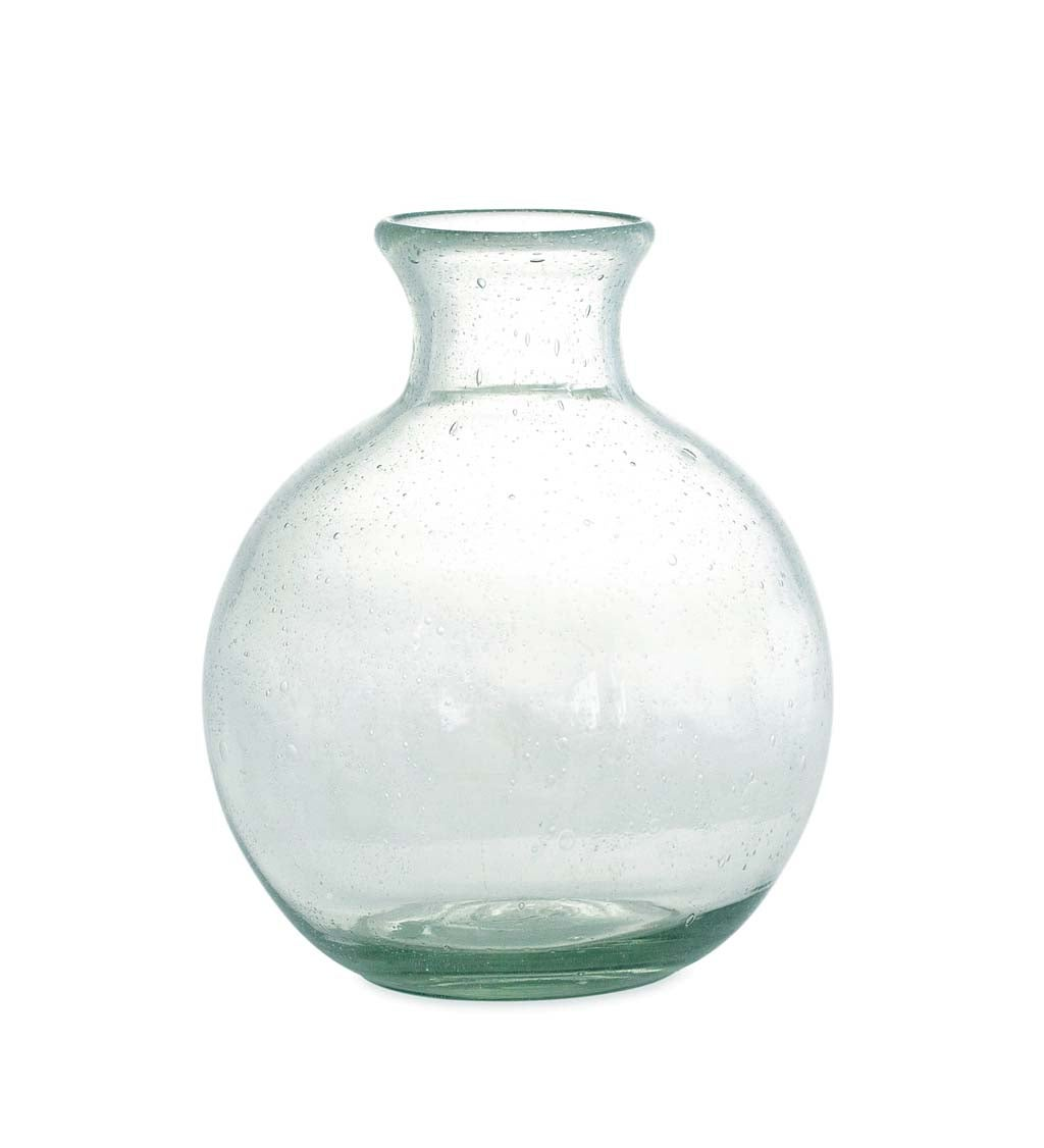 Recycled Glass Apothecary Vase