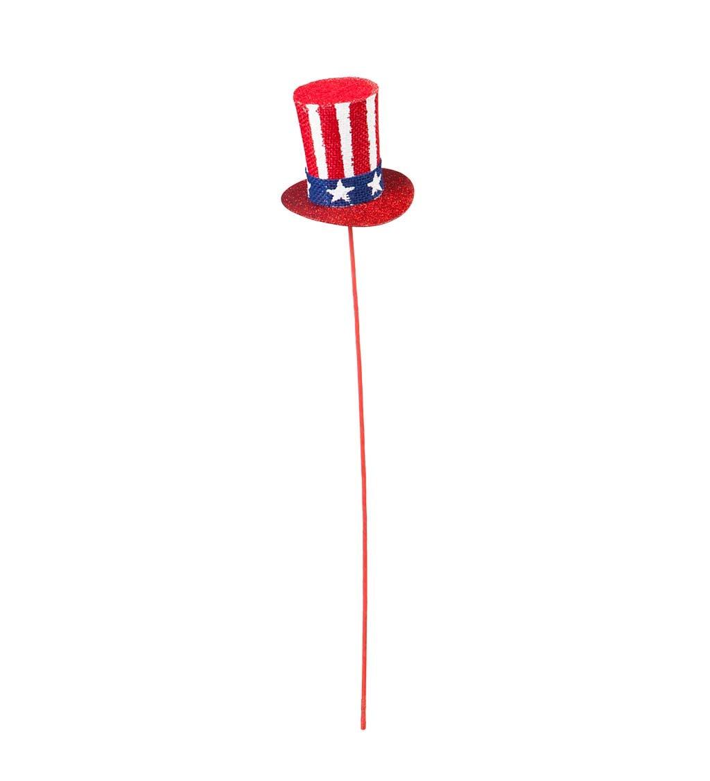 Americana Top Hat Party Pick/Spray