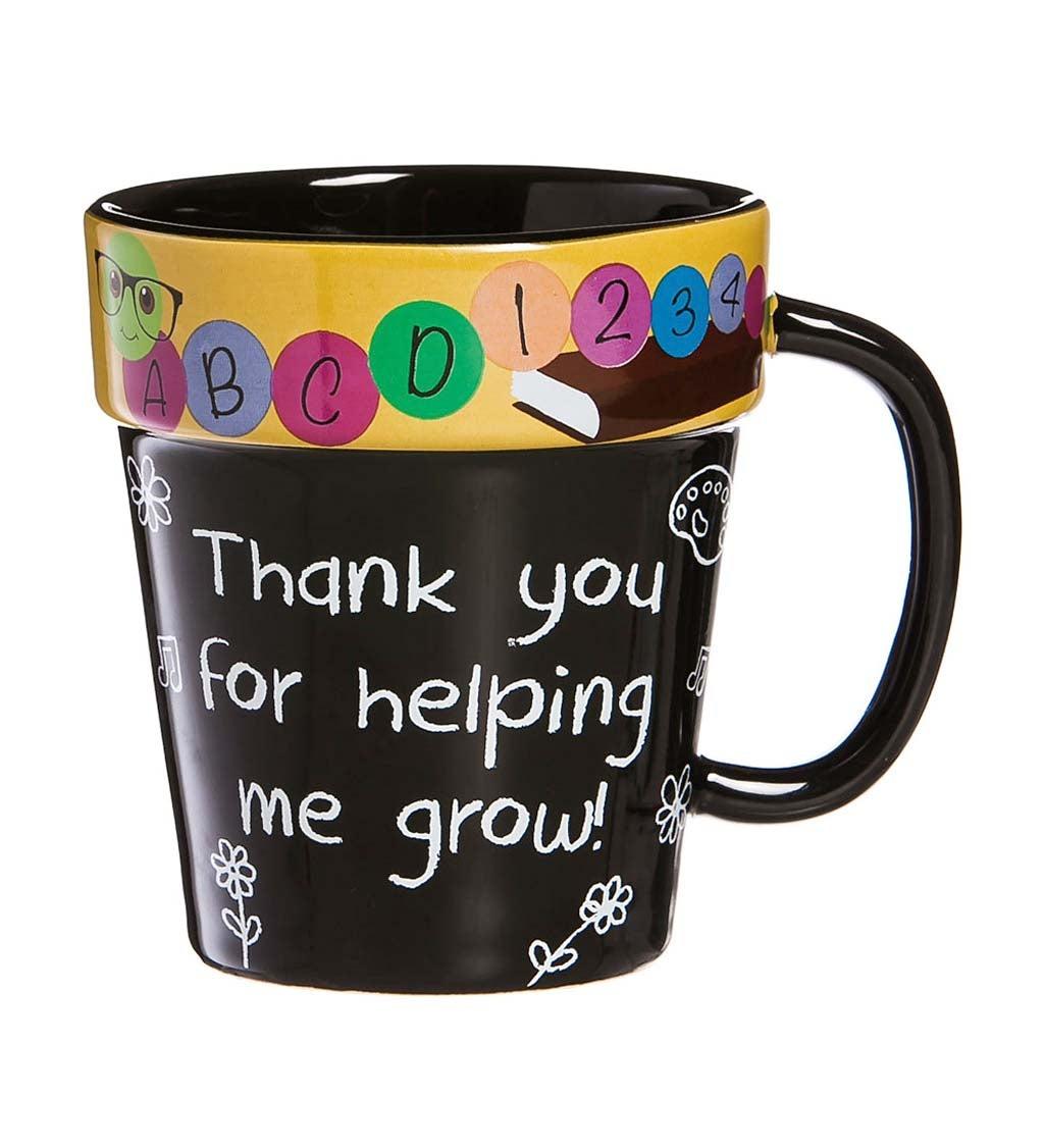 Terra Cotta Teacher Coffee Cup