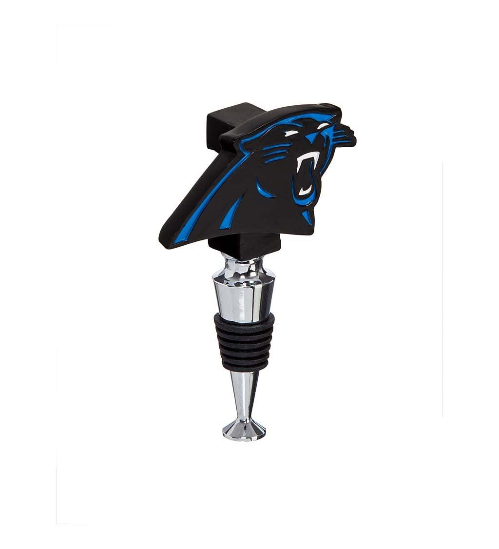 Carolina Panthers Logo Bottle Stopper
