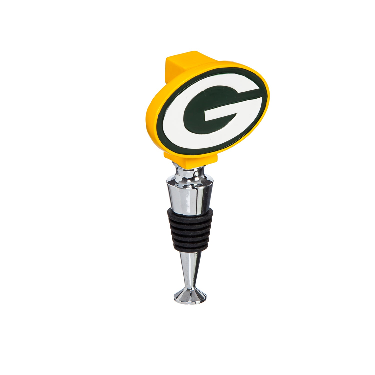 Green Bay Packers Logo Bottle Stopper