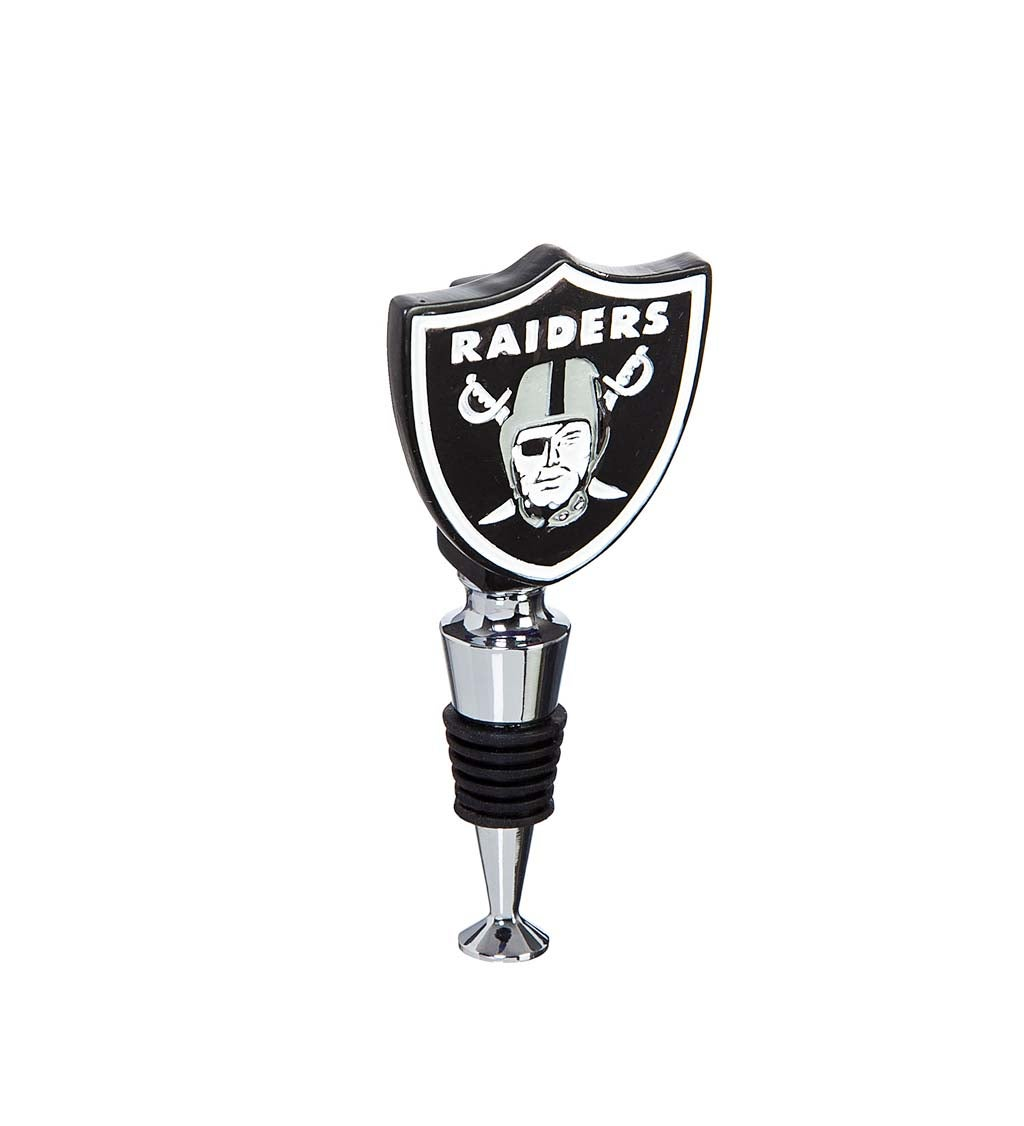 Las Vegas Raiders Logo Bottle Stopper