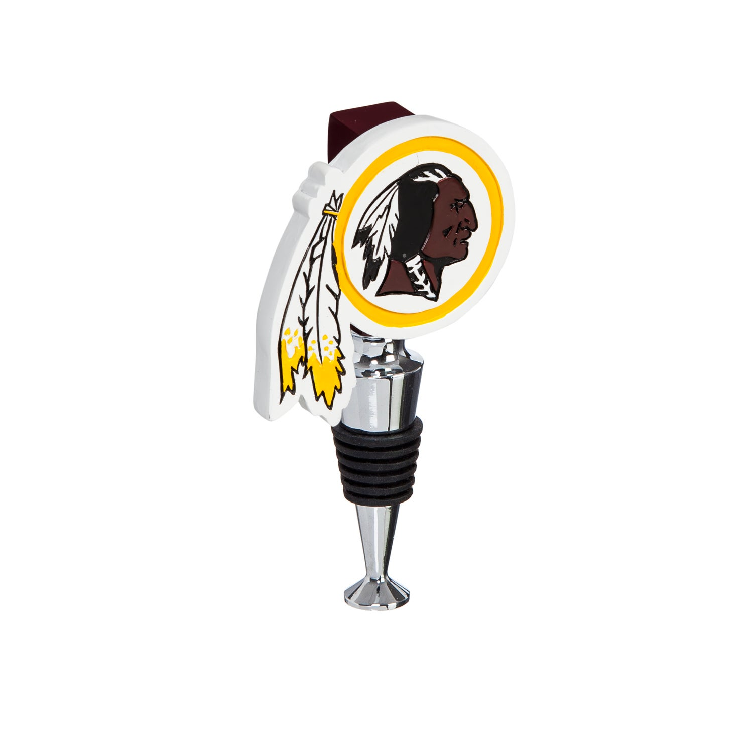 Washington Redskins Logo Bottle Stopper