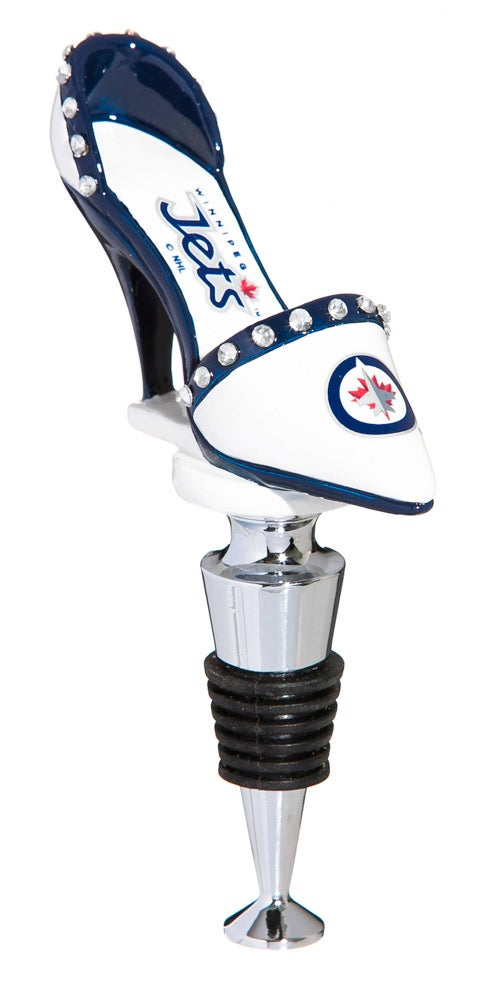 Winnipeg Jets High Heel Shoe Wine Bottle Stopper
