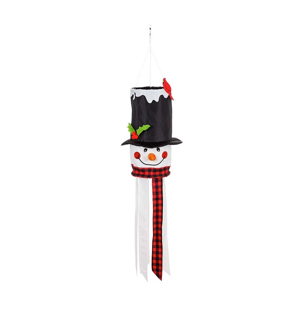Snowman 3D Windsock