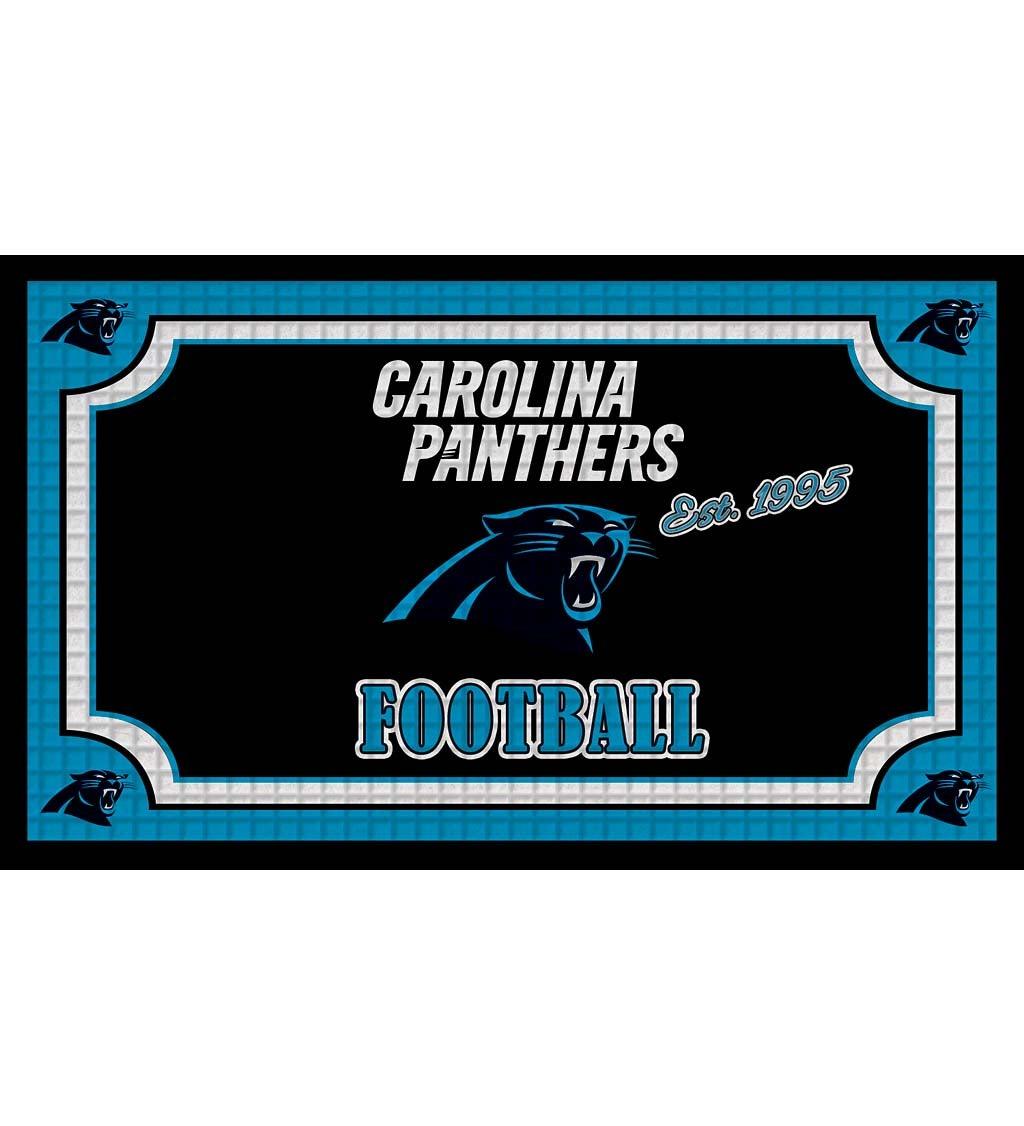 Carolina Panthers Embossed Floor Mat