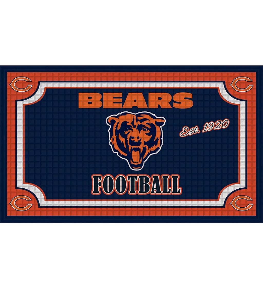 Chicago Bears Embossed Floor Mat