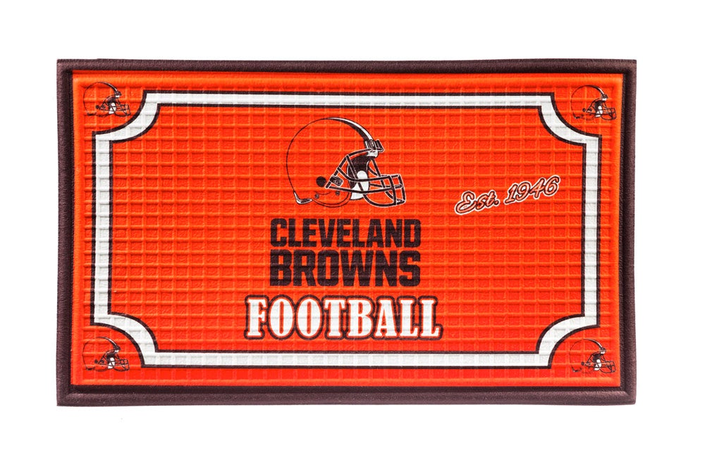 Cleveland Browns Embossed Floor Mat