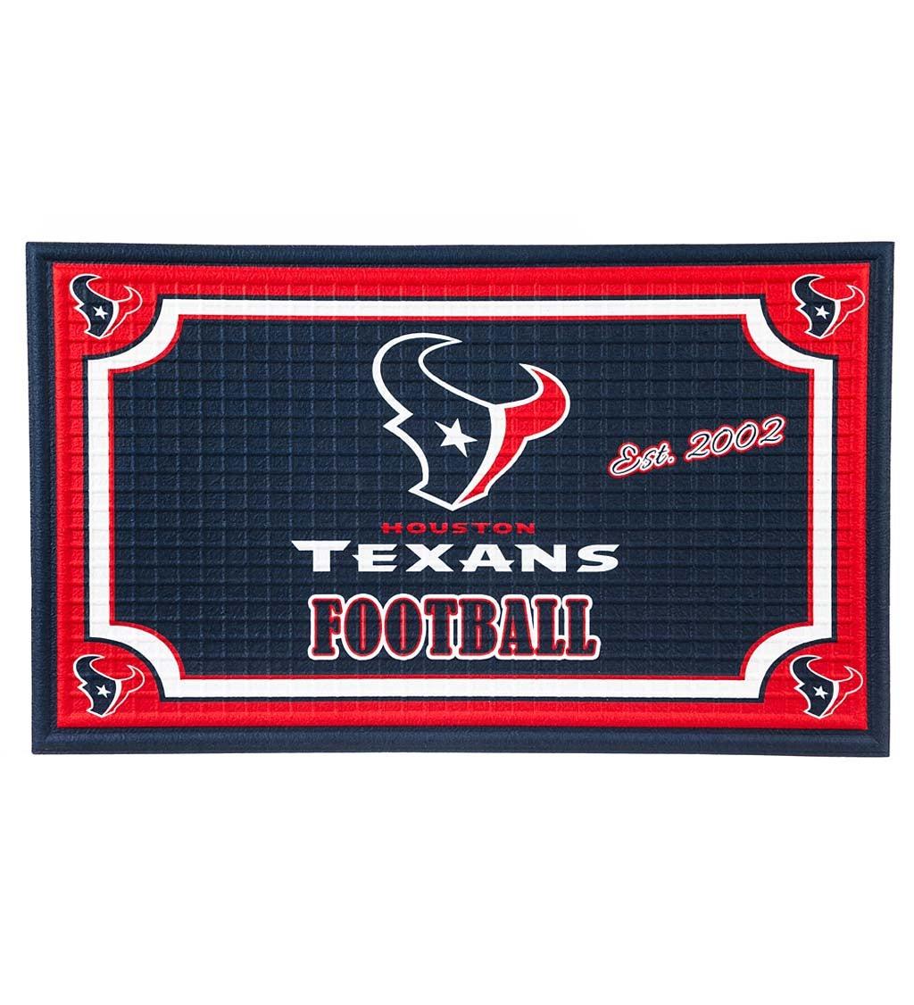 Houston Texans Embossed Floor Mat