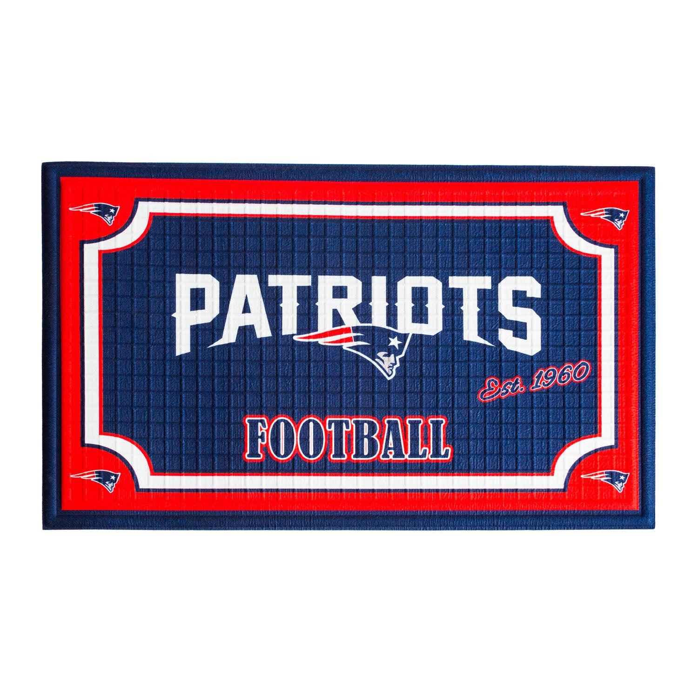 New England Patriots Embossed Floor Mat